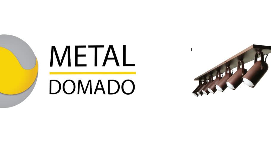 Spot Metaldomado Trilho Fixo 5