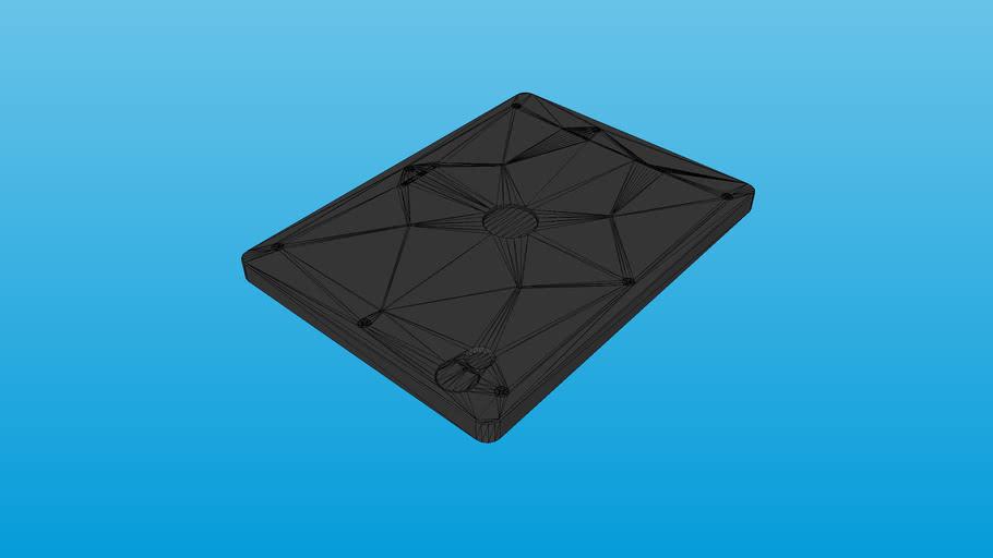 """iPad 10.2"""" 7th/8th Gen VESA 100 VidaMount Home Button + All Cameras Exposed Secure Tablet Enclosure"""
