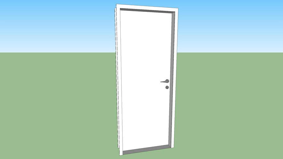 Porta branca