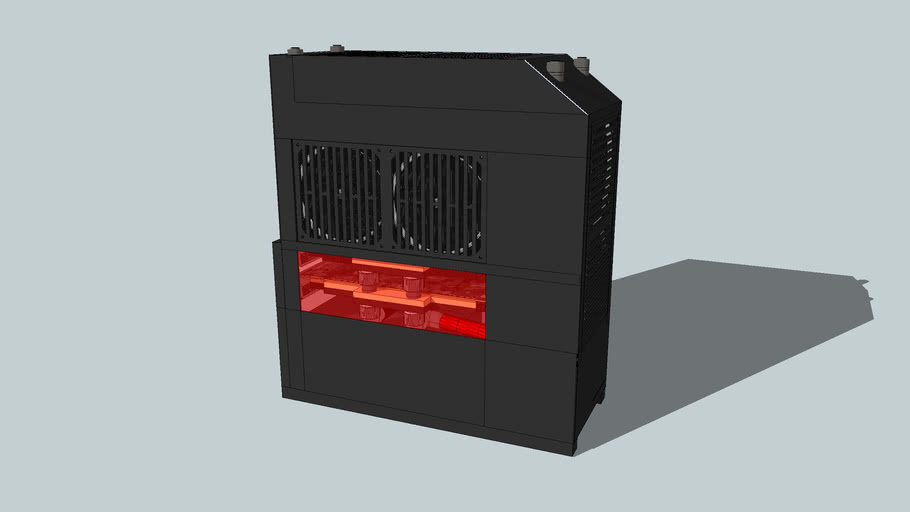 Clock Gearing PC (Max Power in a m-ATX format)