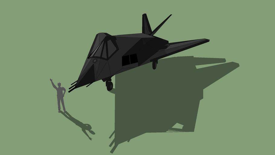 F-117A Nighthawk (Scale 1:1)
