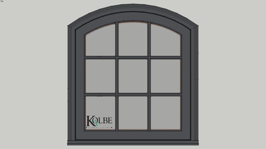 """Kolbe Ultra Segment Head Casement KUC13-SEG F.S. 2'-8"""" x 3'-0"""""""