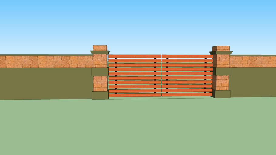 WALL FOR RESIDENCE