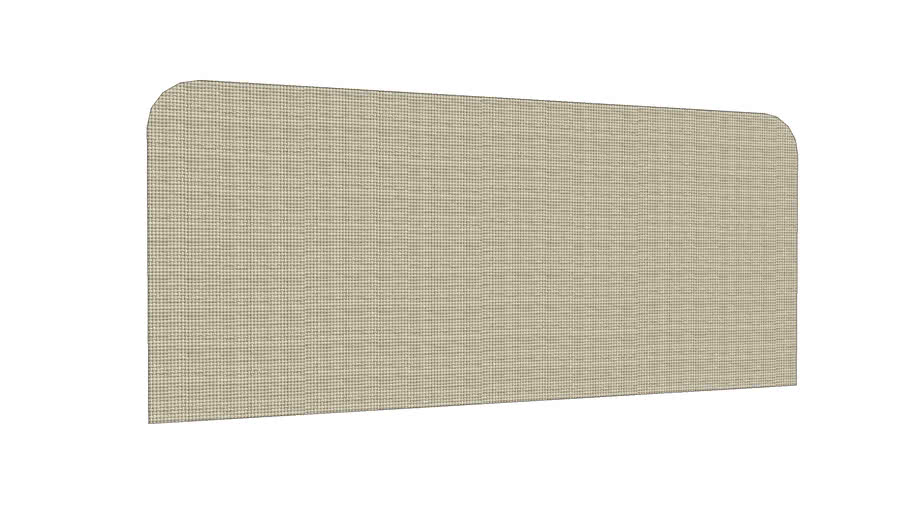 Acoustic fabric screen