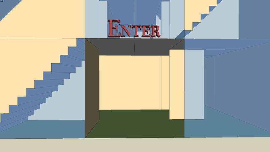 Five-Level Walk-through Maze