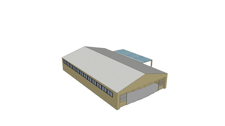Area51 - Hangar 4 - Doors Open