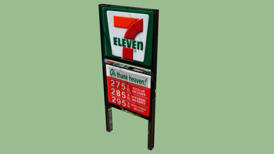 7 eleven fuel sigh