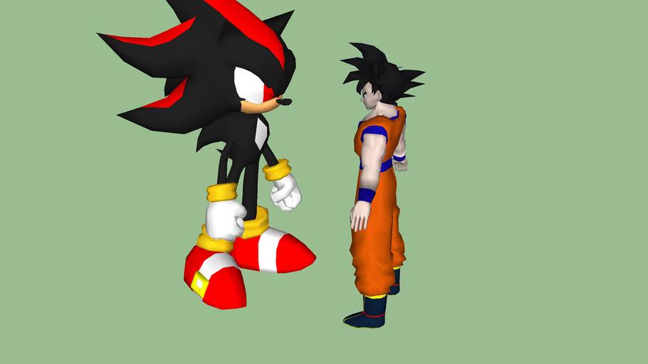 goku and shadow