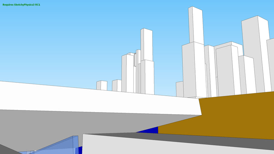 Sketchyphysics City 4.0