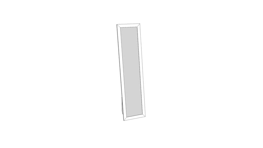 Mondeo Floor Mirror_White