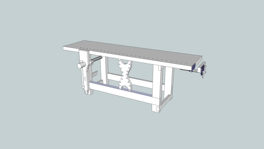 LVL (Gluebo) Workbench from Popular Woodworking, November 2009 Issue