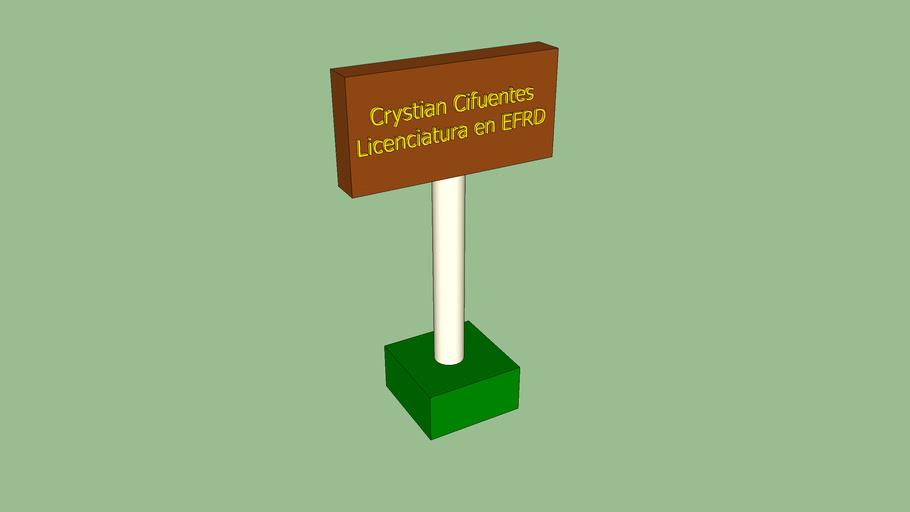 Porta tarjeta Crystian Cifuentes