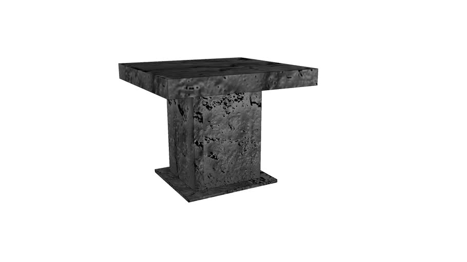 Table - wood 90 x 75
