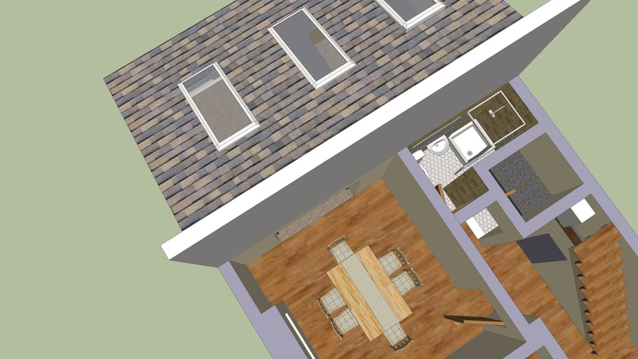 redesign of downstairs extension