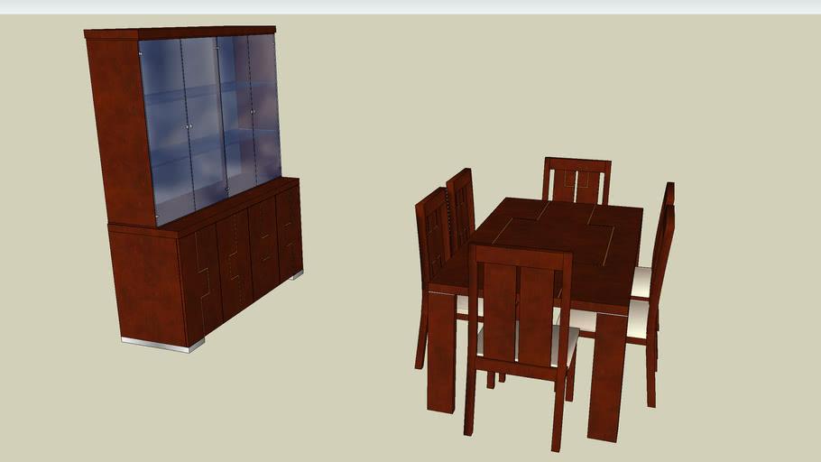 ALF Pisa dining room set