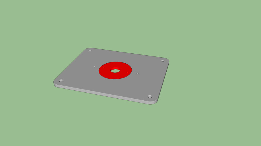 Jessem Style Router Plate
