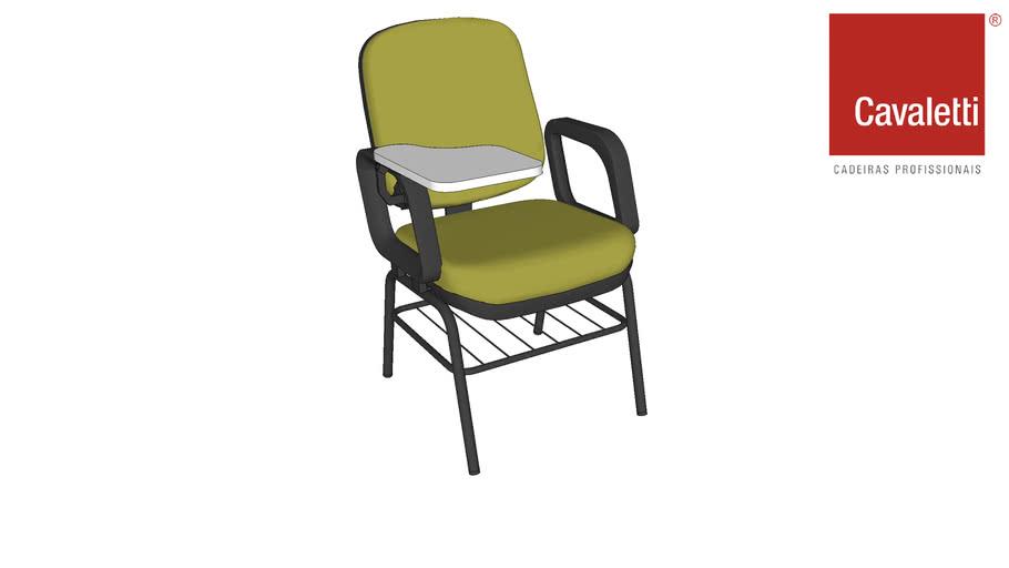 Cadeira Fixa com prancheta para estudos Start 4006 PUE - Cavaletti
