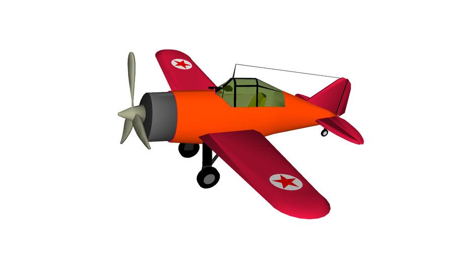 Brewster F2A Buffalo Fighter