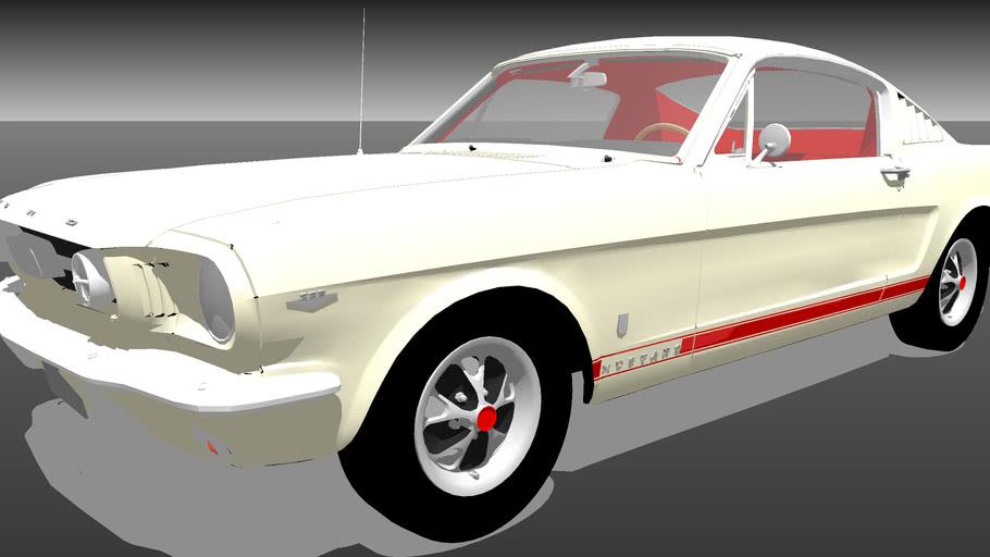 66 Mustang 2+2