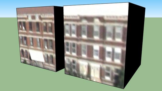 Budynek przy Chicago, Illinois, Stany Zjednoczone