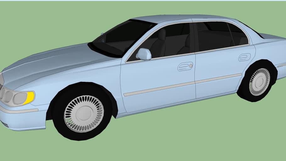 1998 Lincoln Continental (Tony Soprano)