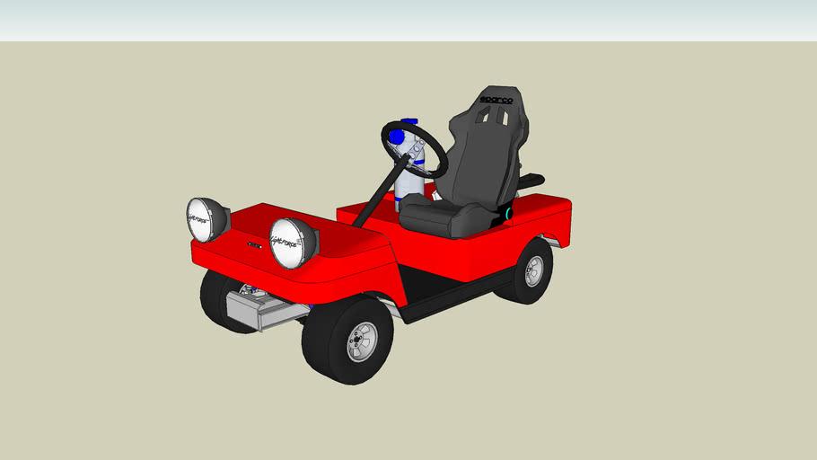 racing golfcart