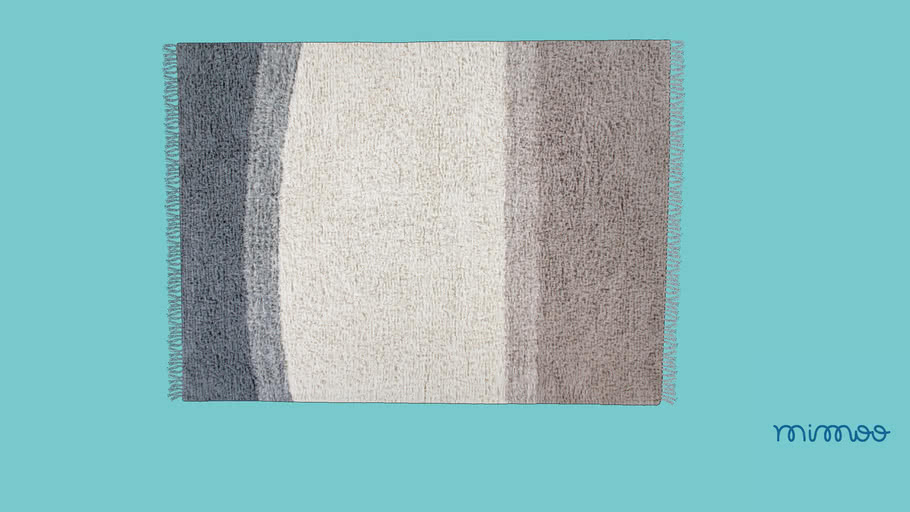 TAPETE WOOLABLE INTO THE BLUE 200 X 140 CM - LORENA CANALS - MIMOO TOYS