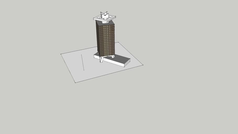 toren van overhoeks