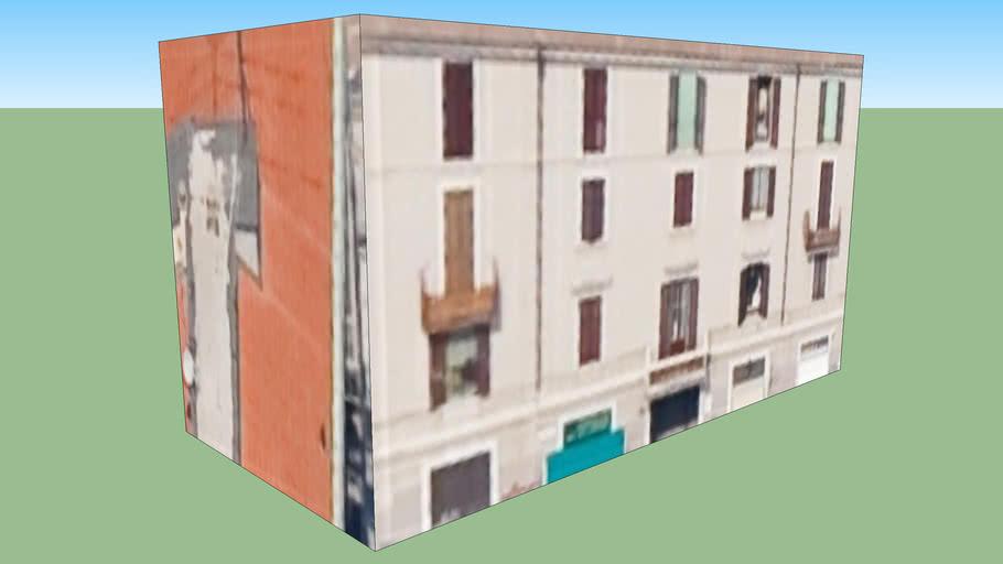 Gebäude in Mailand, Italien