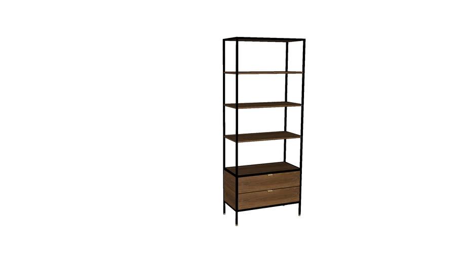 [Square Roots] Neva Book Shelves