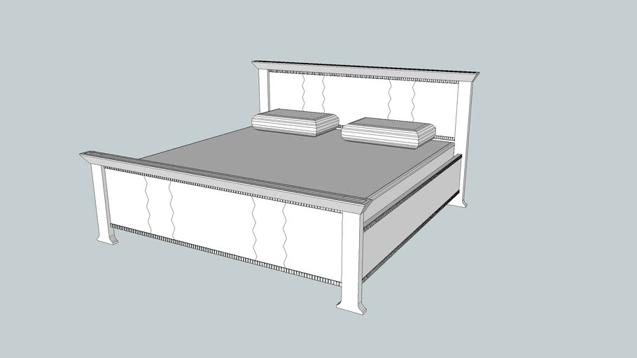 African King Size Bed