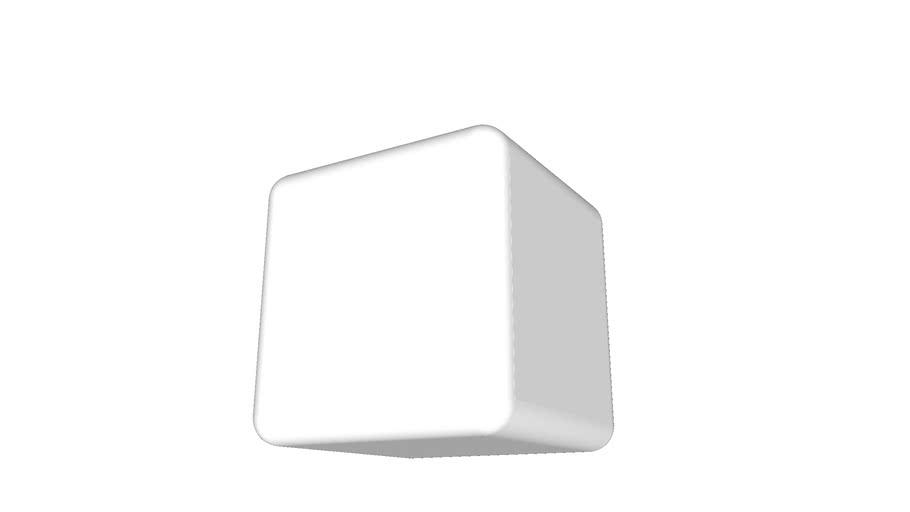Cube round edges