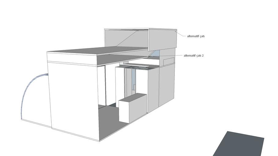 7mx3m mobile tiny house module