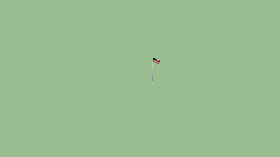 Salt Lake City Capital Flag Pole