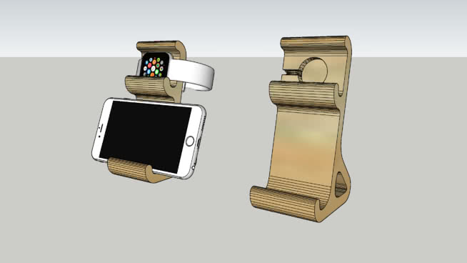 Apple Watch and Phone Dock