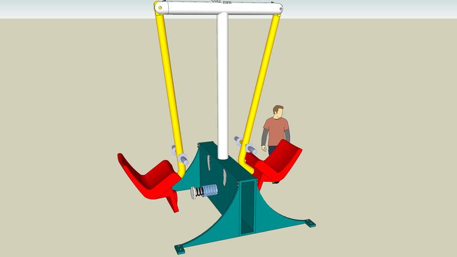 double pendulum hammer