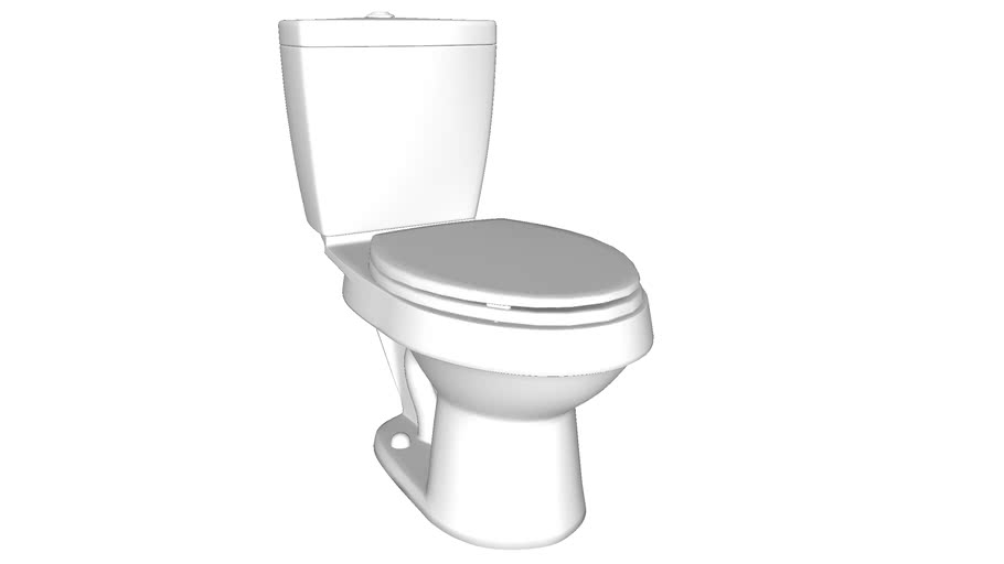 402028 Karsten(R) Elongated Toilet With Dual Force(R) Technology