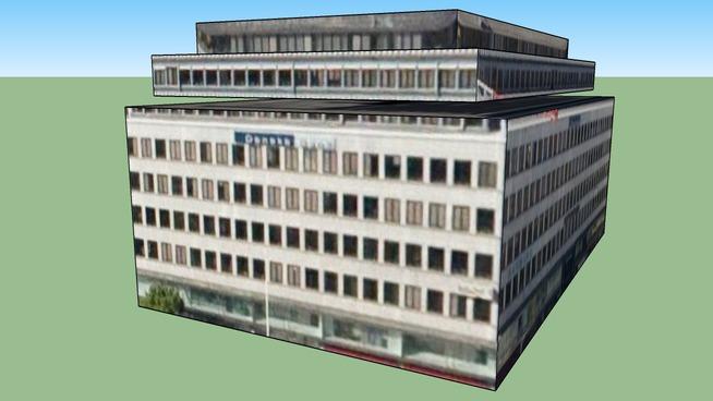Building in Stockholm, Sweden