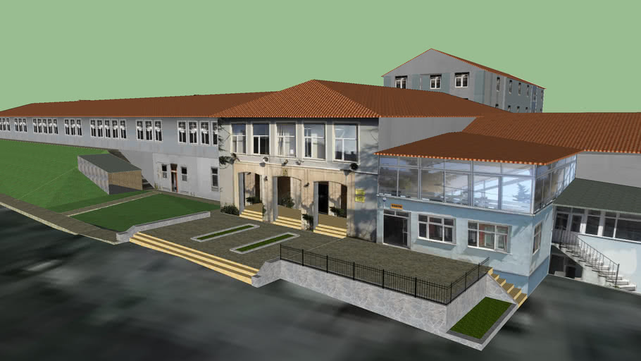 İSOV Teknik ve Endüstri Meslek Lisesi / Okulun Tamamı
