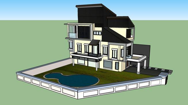 Ellie modern house KL