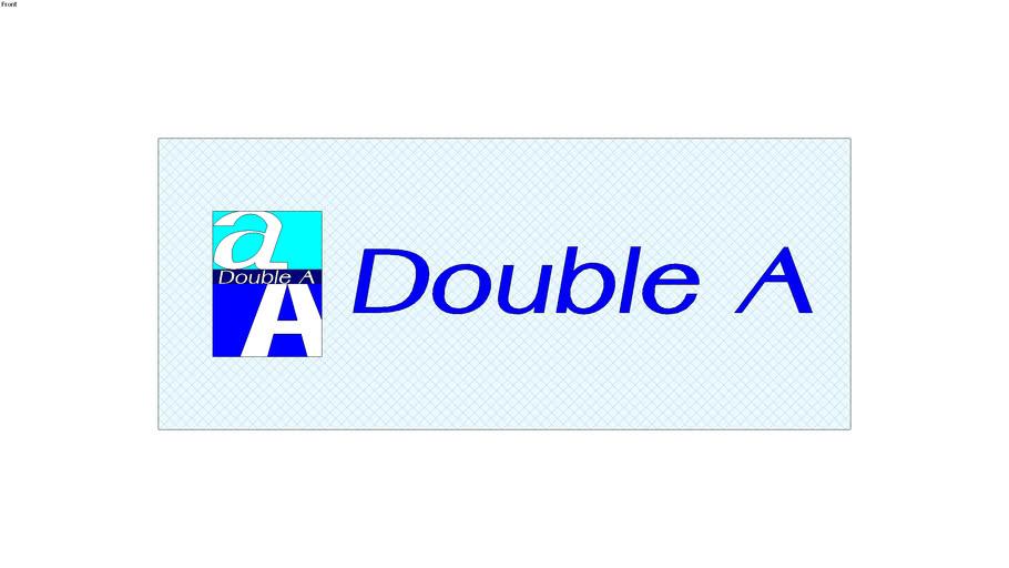 DoubleA Sticker