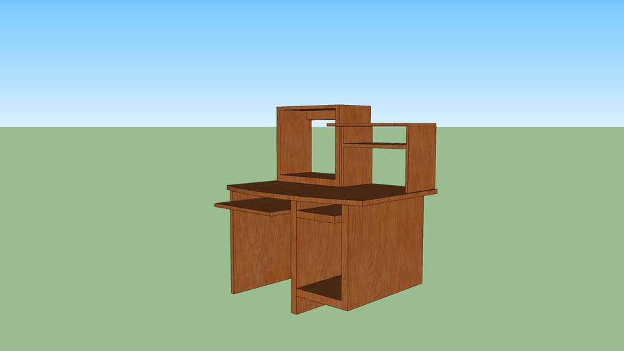 mueble para computadora sencillo