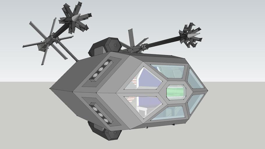 Essex Asteroid Harpoon Raft