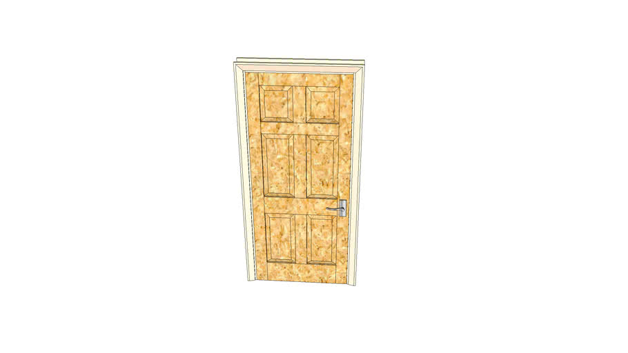 淡木色室内门