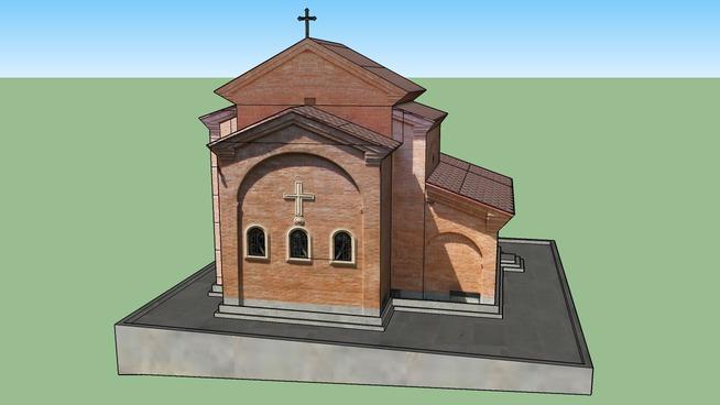 wminda barbares saxelobis eklesia, church