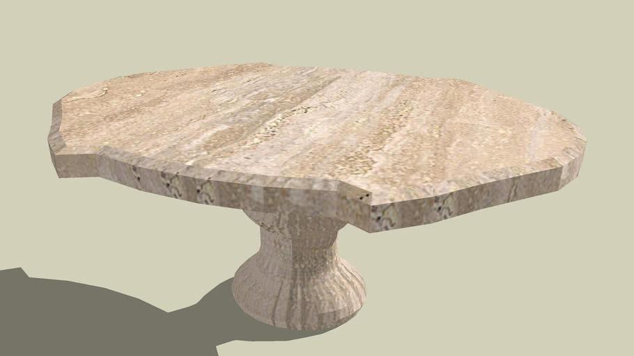 travertino table