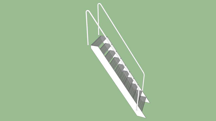 Escada de Metal para Embarcações