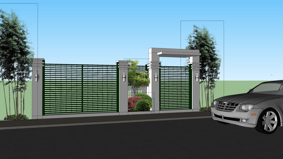 PROPOSED FENCE FOR JOY SCHEME 2