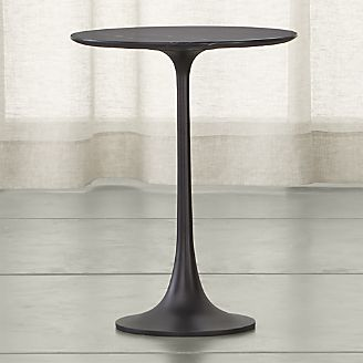 Nero Round Accent Table
