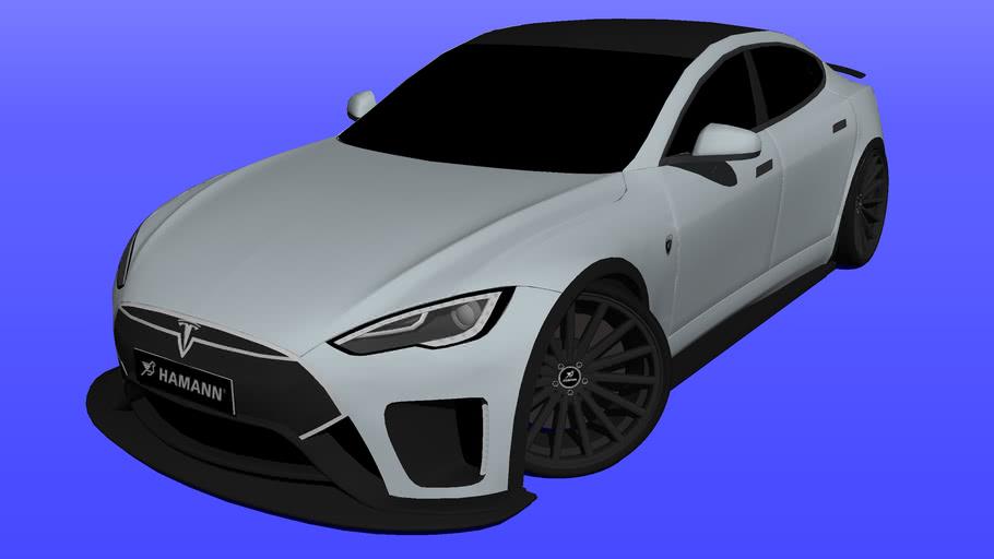 2016 Tesla Model S P85D Hamann Fusion
